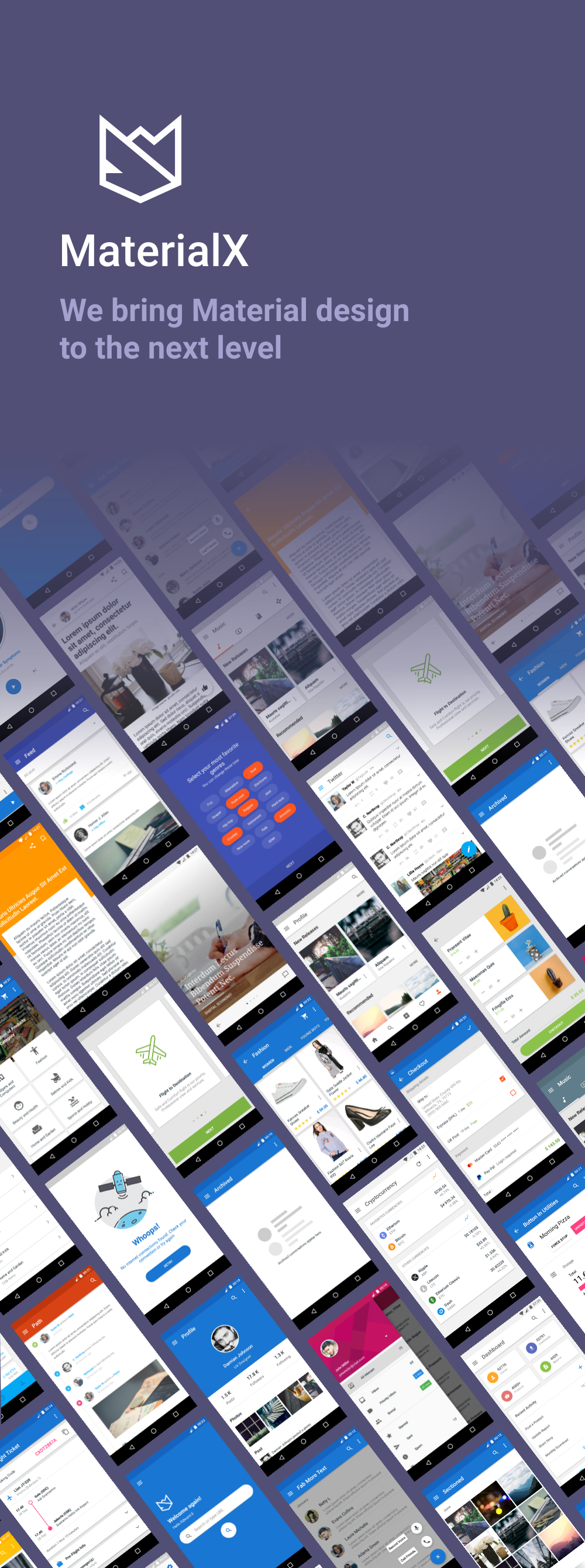 MaterialX - Android Material Design UI Components 2.4 - 2