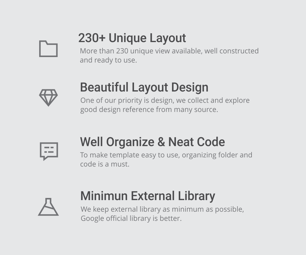 MaterialX - Android Material Design UI Components 2.4 - 4