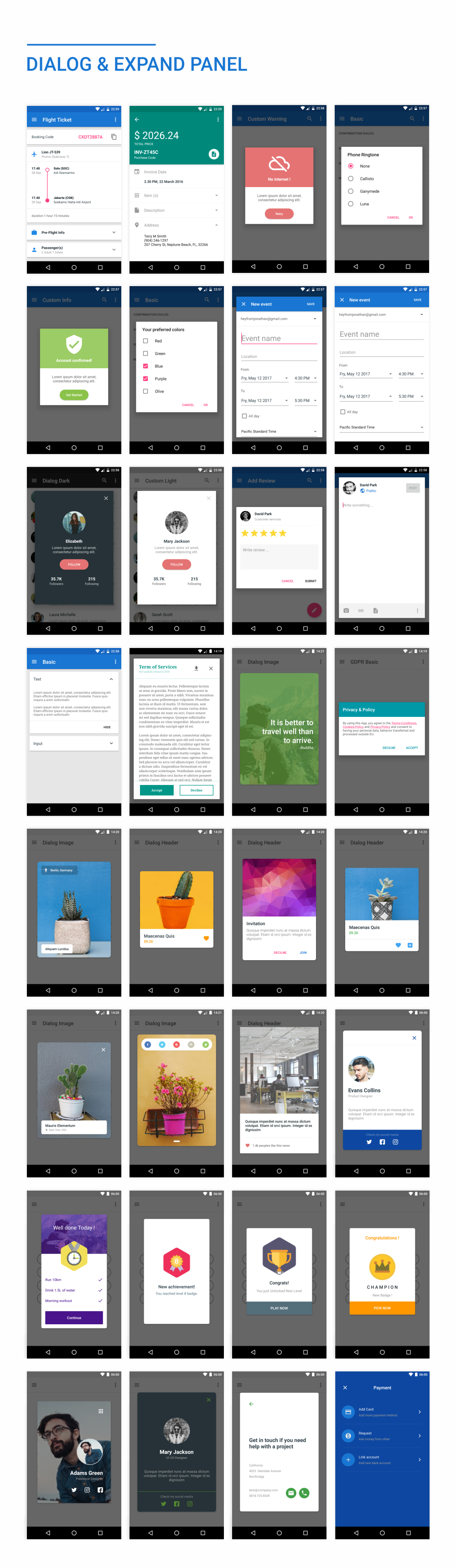 MaterialX - Android Material Design UI Components 2.4 - 36