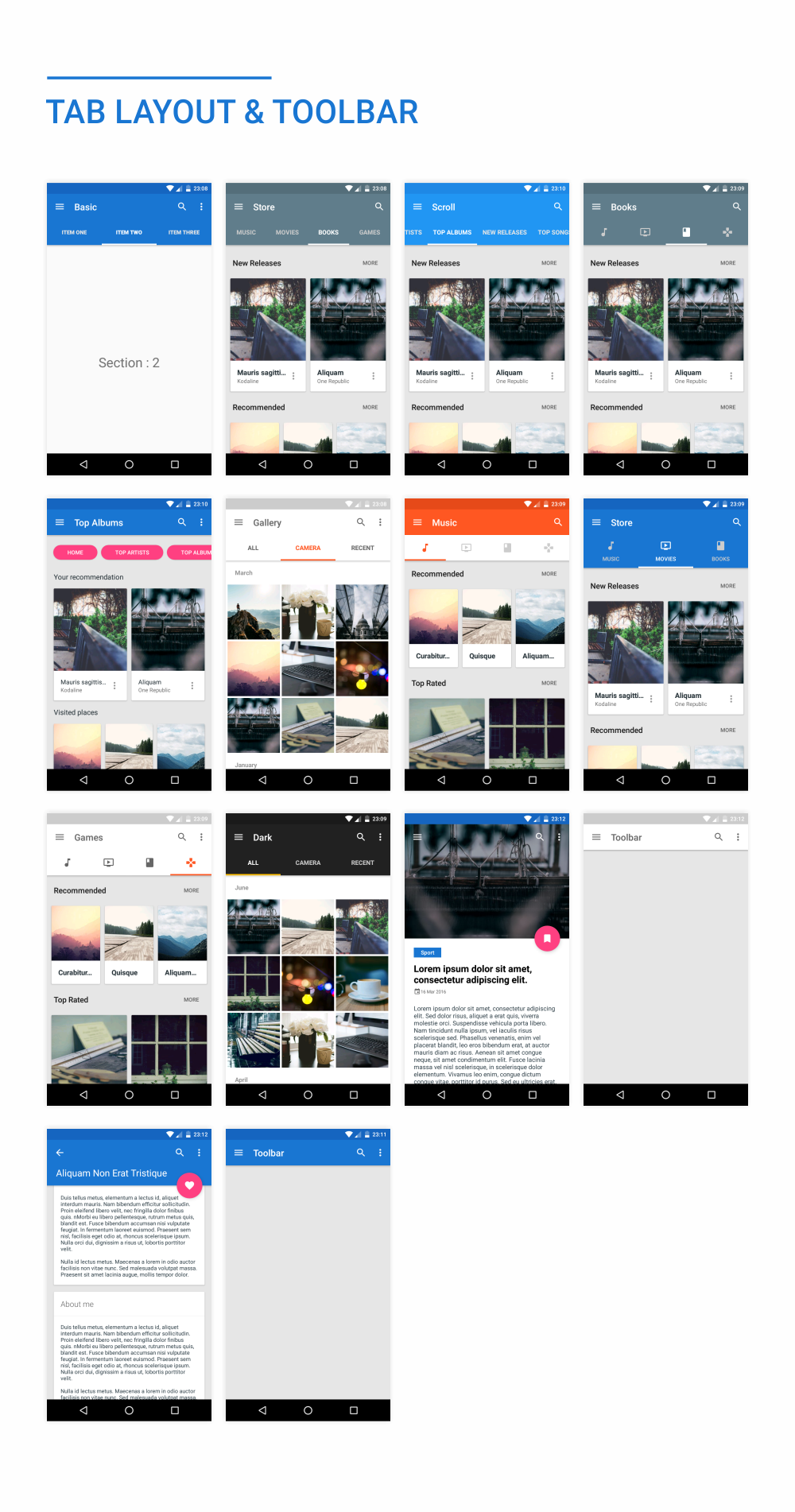 MaterialX - Android Material Design UI Components 2.4 - 40