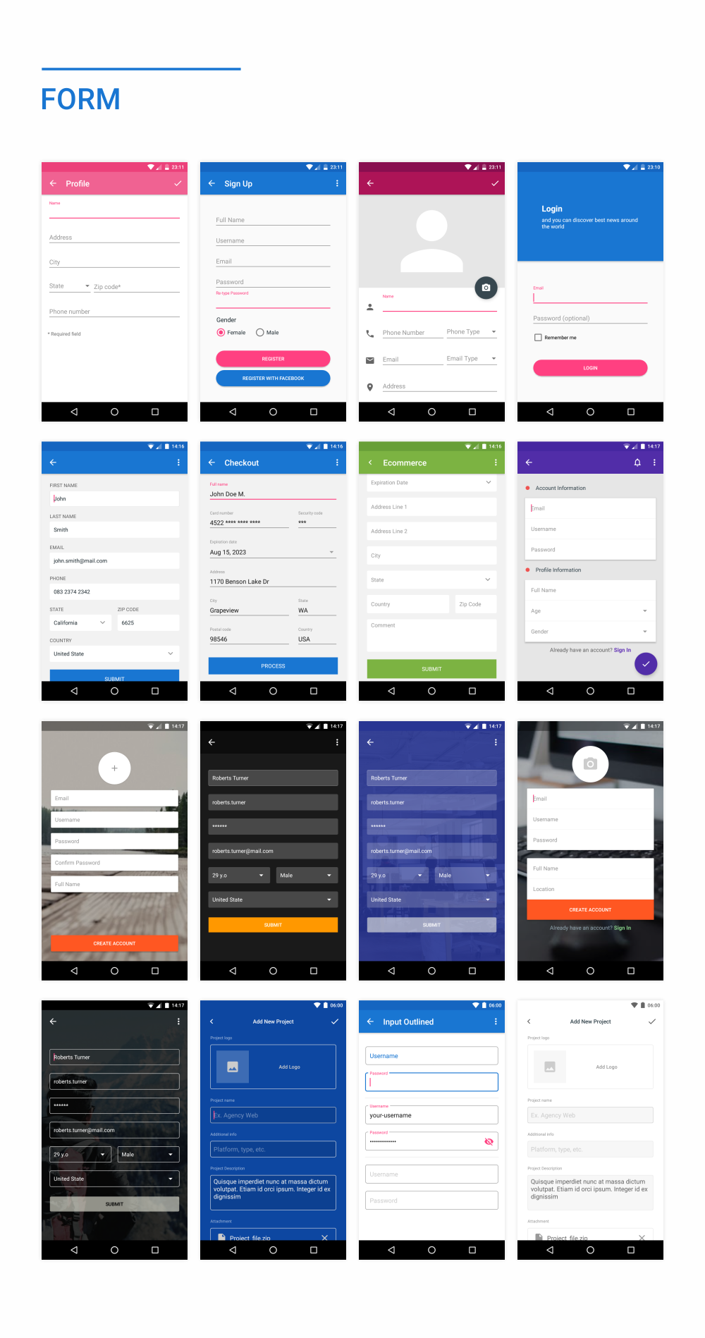 MaterialX - Android Material Design UI Components 2.4 - 41