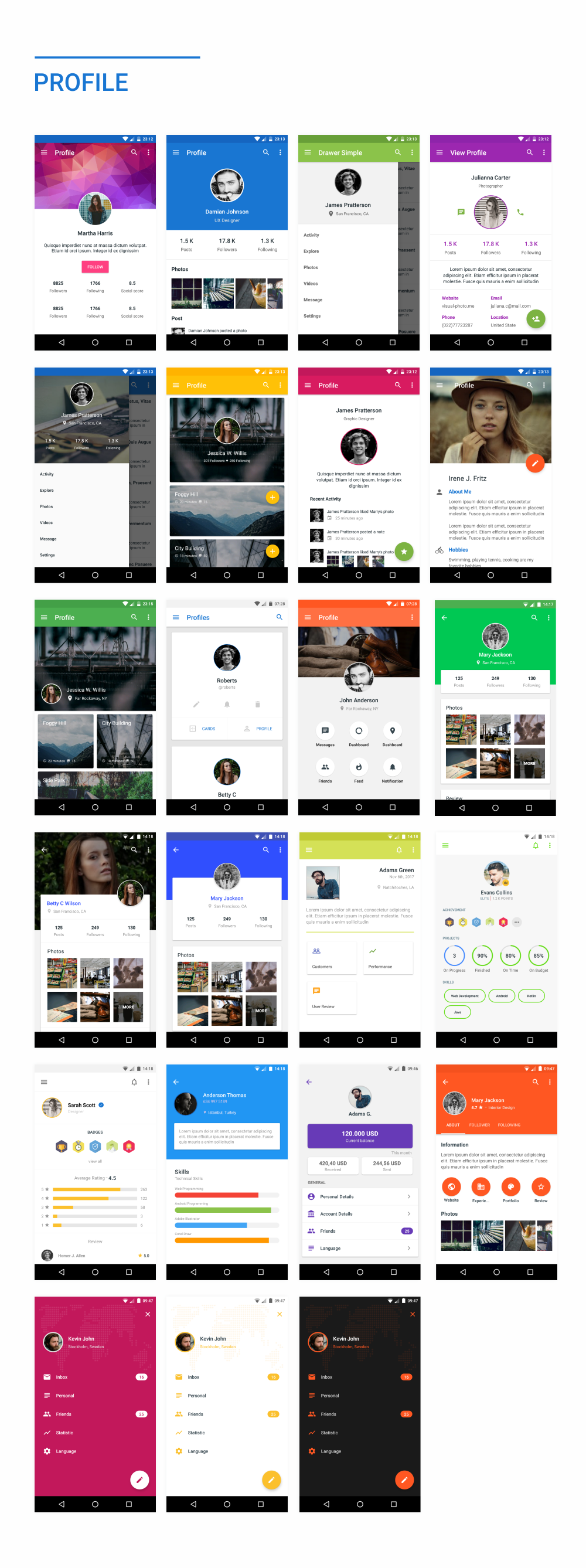 MaterialX - Android Material Design UI Components 2.4 - 47