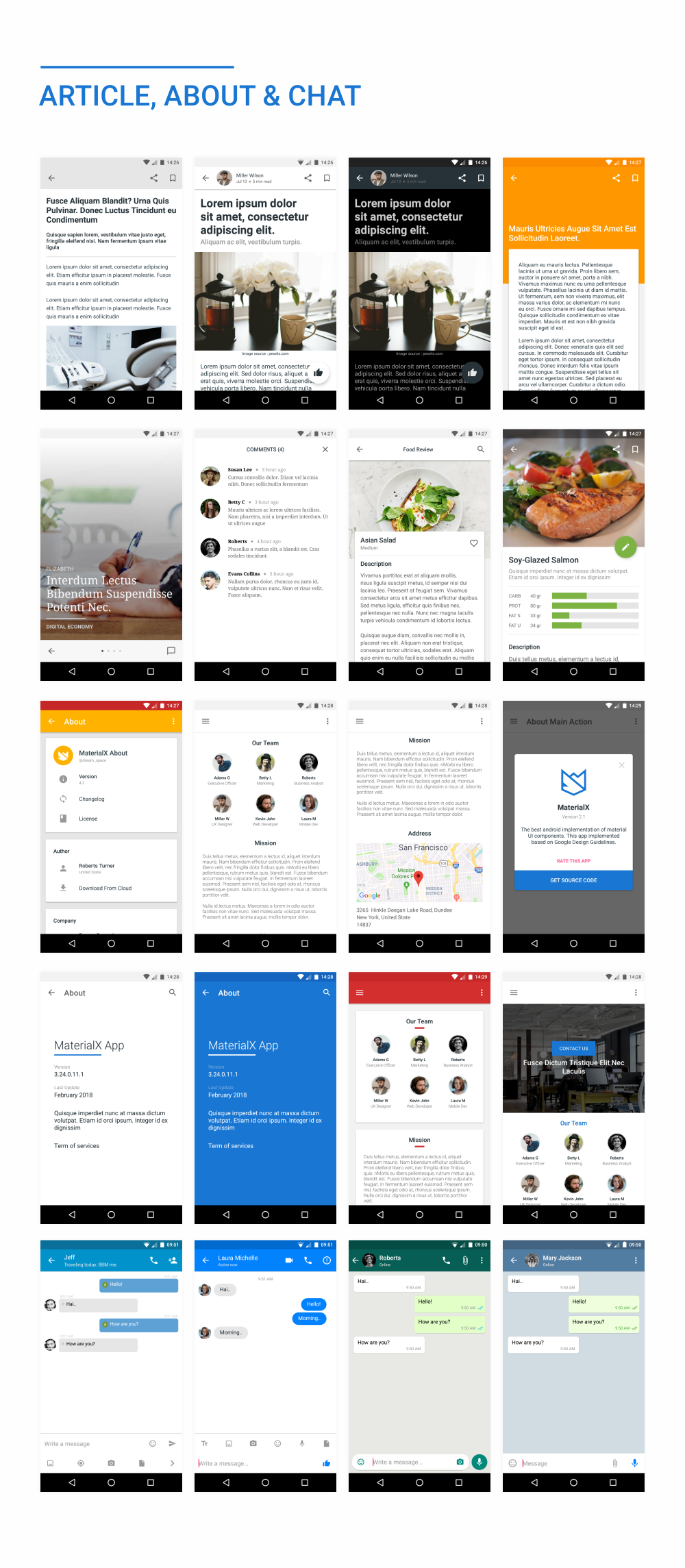MaterialX - Android Material Design UI Components 2.4 - 48