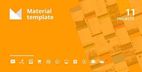 Android Material UI Template 4.0 - CodeCanyon Item for Sale