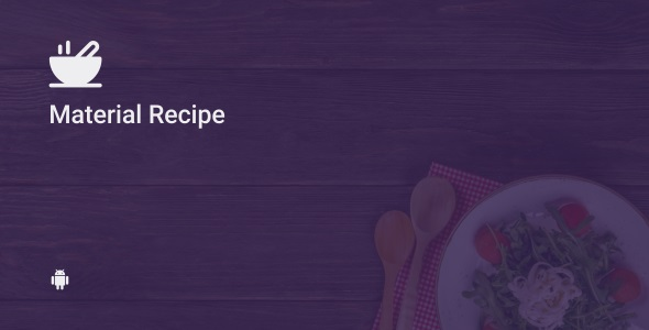Material Recipe 4.3 - CodeCanyon Item for Sale