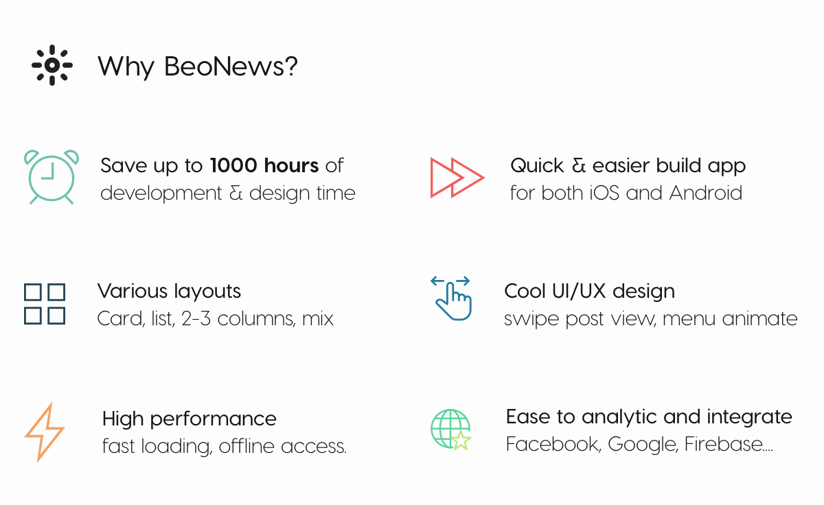 BeoNews Pro - React Native mobile app for WordPress - 22