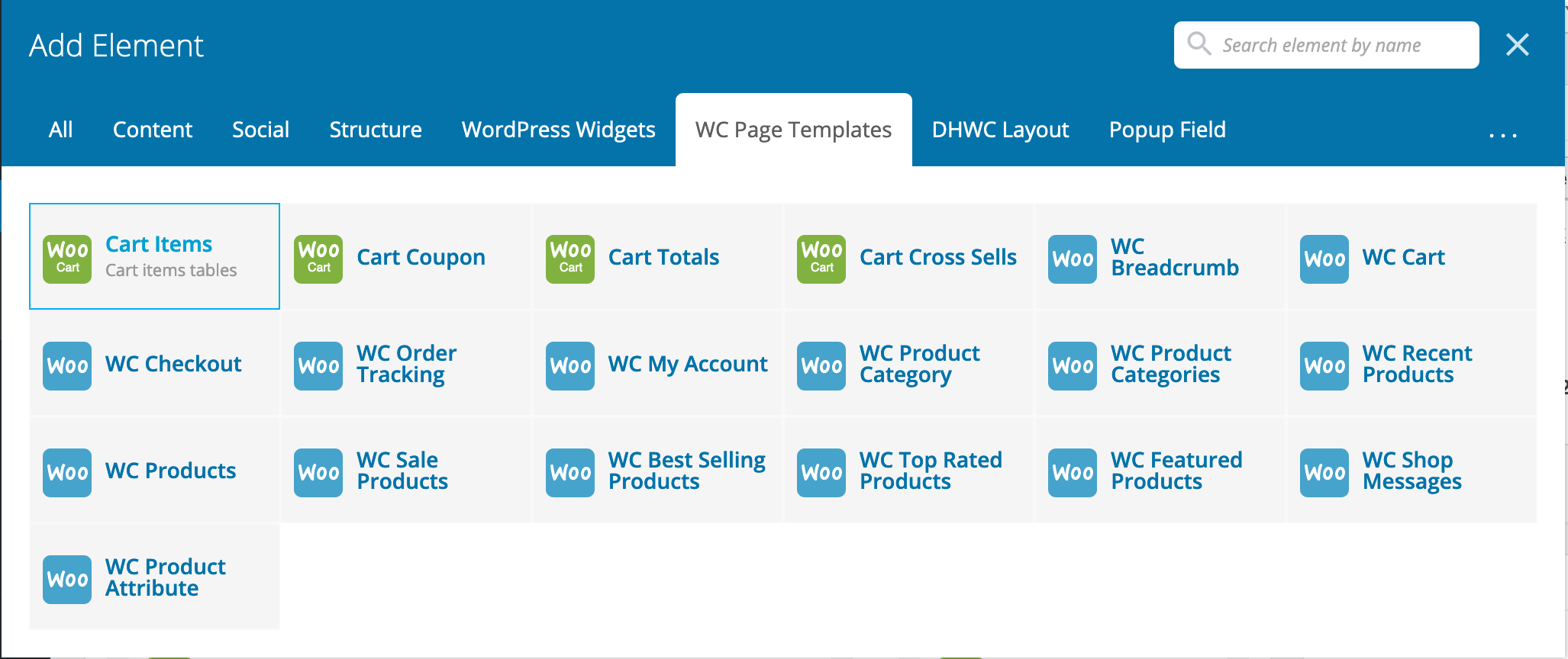 DHWCPage - WooCommerce Page Template Builder - 6