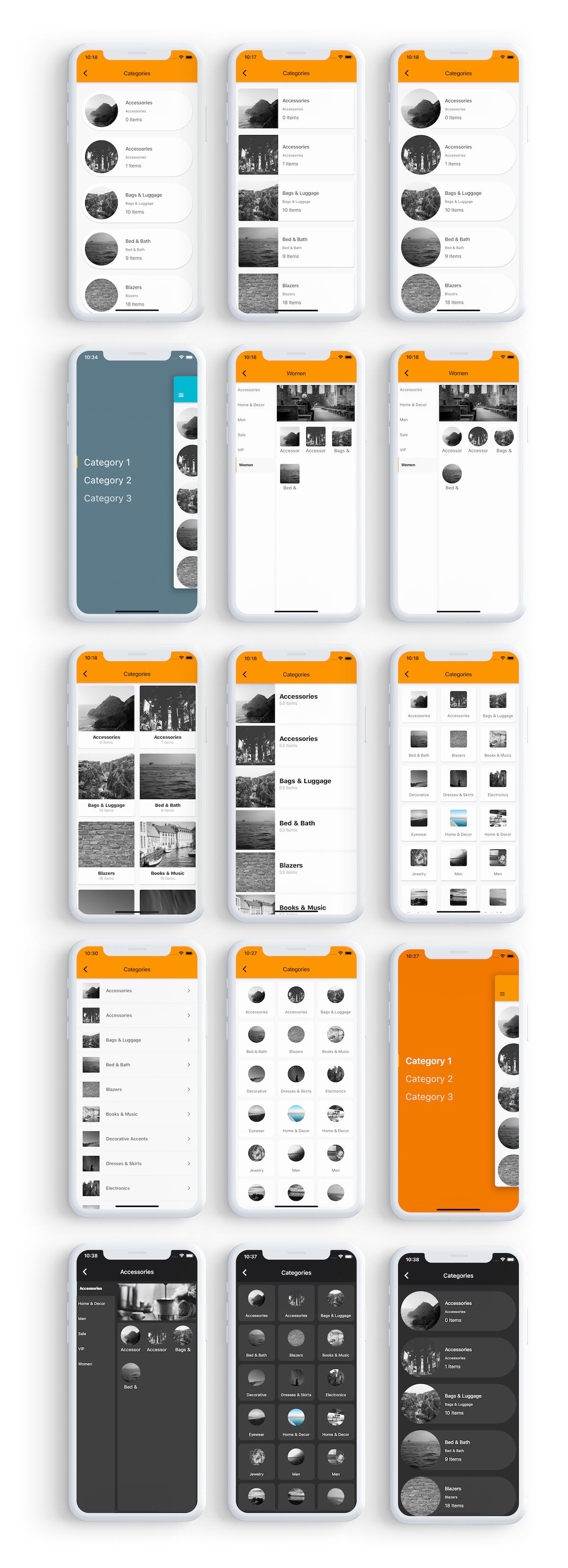 Flutter app for woocommerce - 3