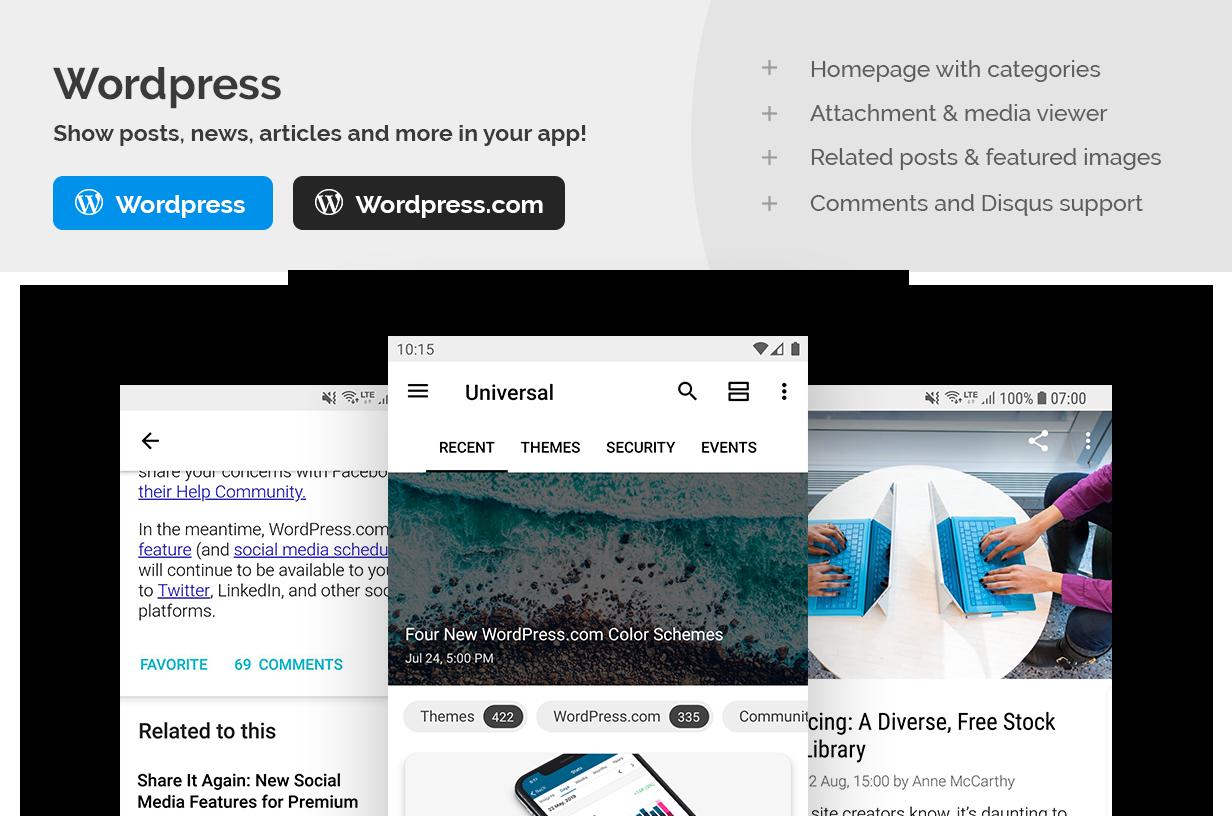 Universal - Full Multi-Purpose Android App - 2