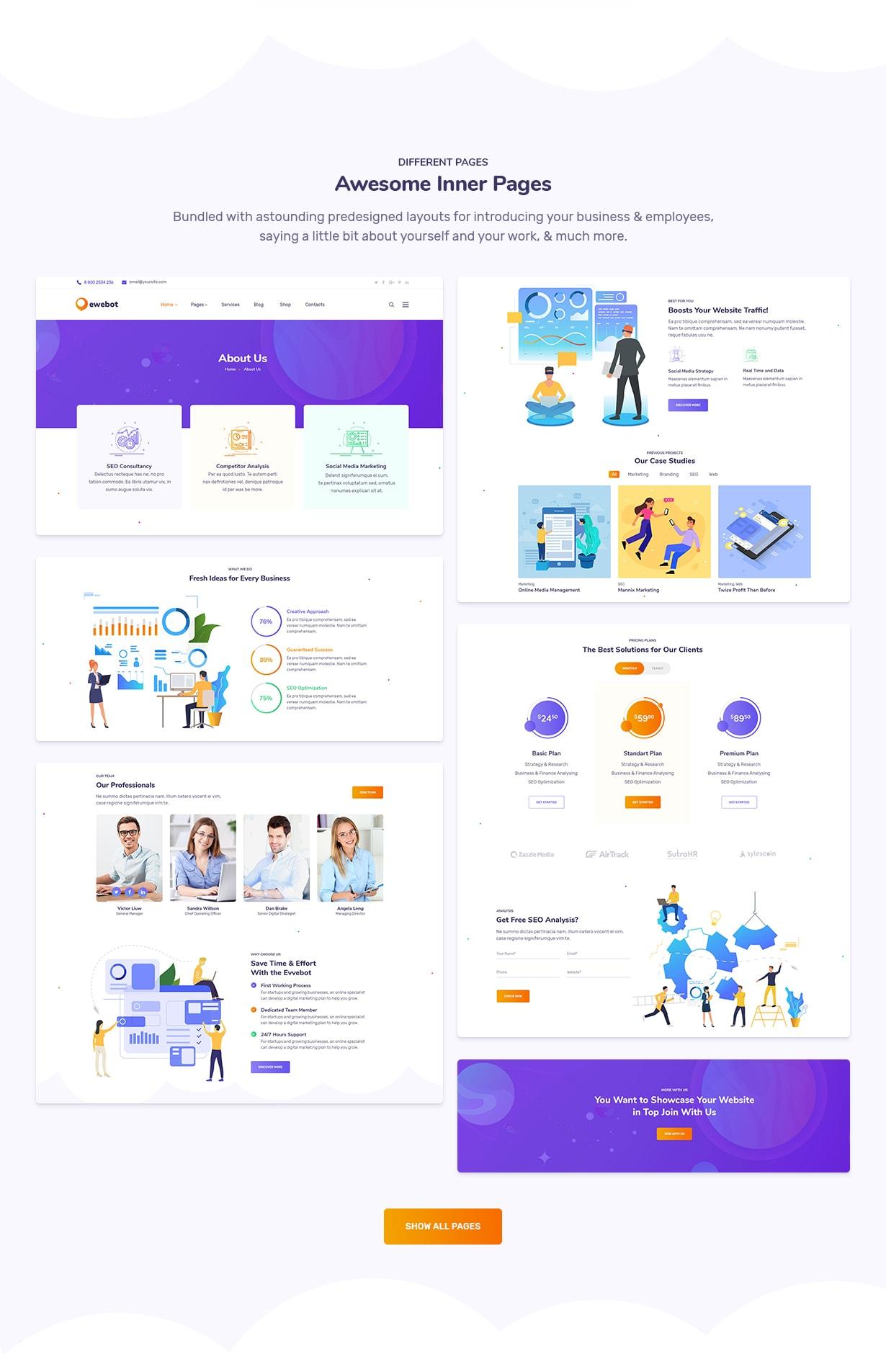 Ewebot - Marketing SEO Digital Agency - 4