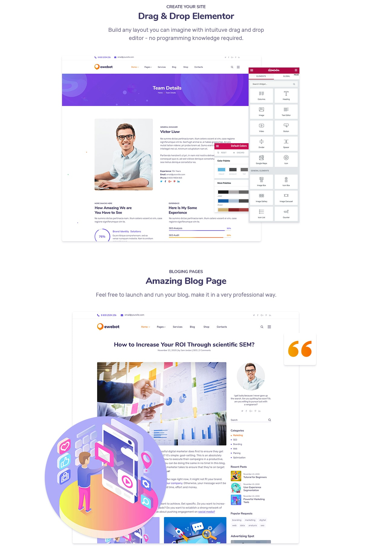 Ewebot - Marketing SEO Digital Agency - 5