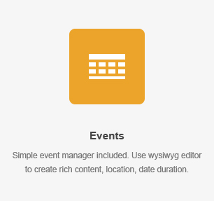 Events Element