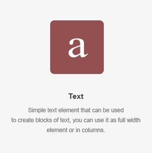 Text Element