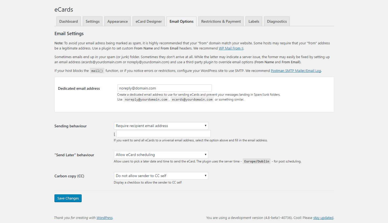 WordPress eCards - 4
