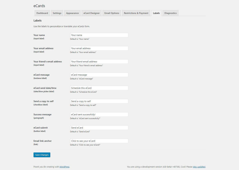 WordPress eCards - 5