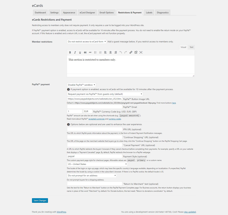WordPress eCards - 6