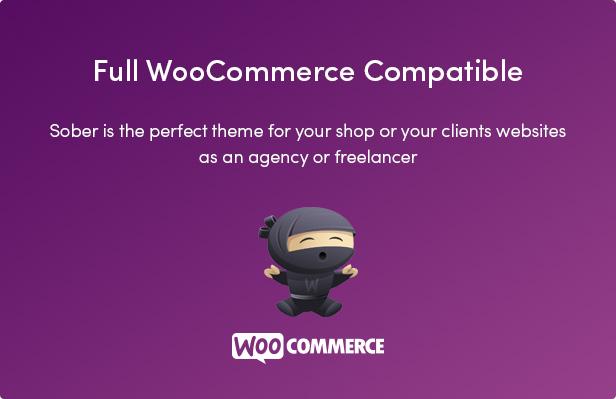 Sober WordPress WooCommerce