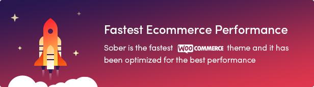 Sober WordPress theme high performance