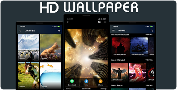 Photo of Get 4K HD Wallpaper – Android Source Code Download