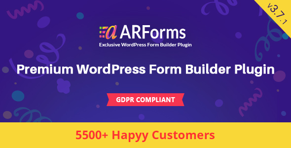 Photo of Get ARForms: Wordpress Form Builder Plugin Download