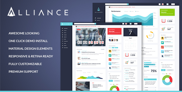 Photo of Get Alliance | Intranet & Extranet WordPress Theme Download