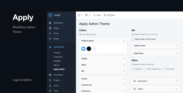 Photo of Get Apply – WordPress Admin Theme Download