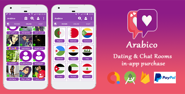 Photo of Get Arabico – Dating & Chat Group with In-app Purchase Download