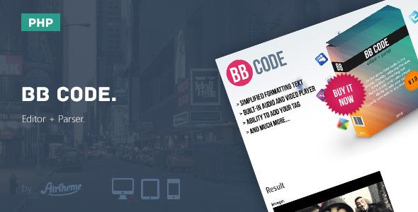 Photo of Get BB Code Editor + Parser Download