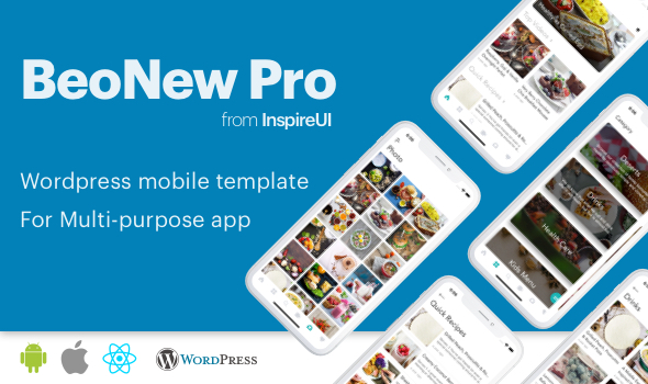 Photo of Get BeoNews Pro – React Native mobile app for Wordpress Download