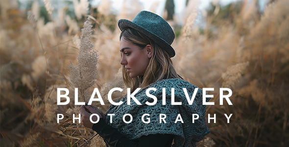 Photo of Get Blacksilver   Photography Theme for WordPress Download