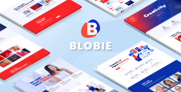 Photo of Get Blobie – Multiconcept Creative WordPress Theme Download