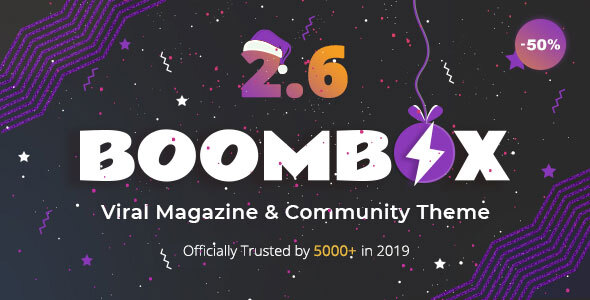 Photo of Get BoomBox — Viral Magazine WordPress Theme Download
