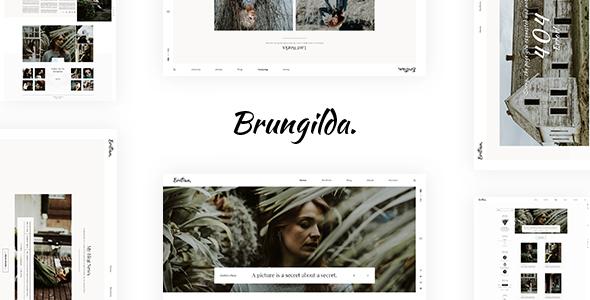 Photo of Get Brungilda – Photography WordPress theme Download