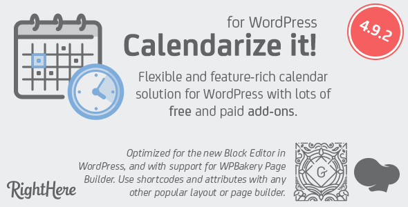 Photo of Get Calendarize it! for WordPress Download