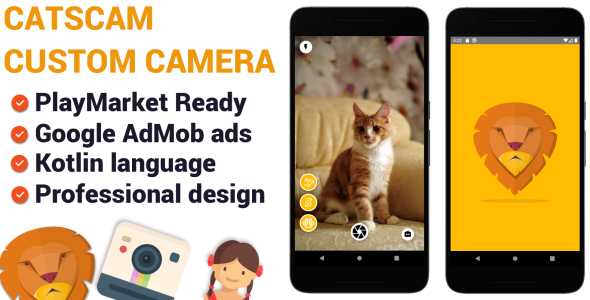 Photo of Get CatsCam – Android Custom Camera Source Code Download