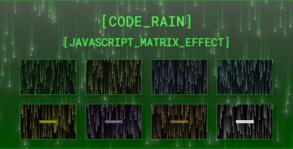Photo of Get Code Rain – JavaScript Matrix Effect Download