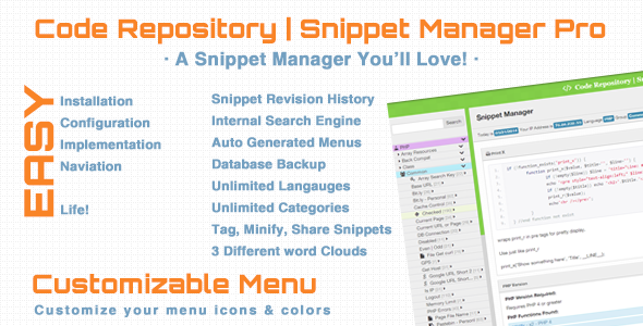 Photo of Get Code Repository & Snippet Manager Pro Download