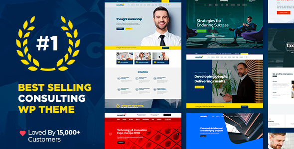 Photo of Get Consulting – Business, Finance WordPress Theme Download