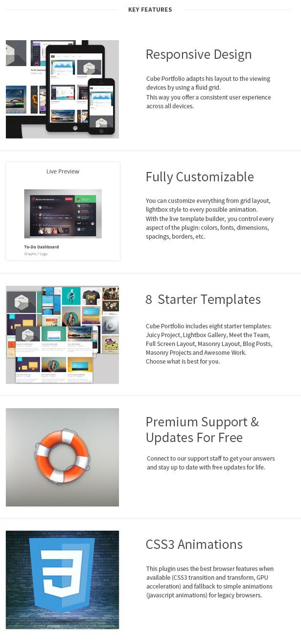 Cube Portfolio - Responsive WordPress Grid Plugin - 4