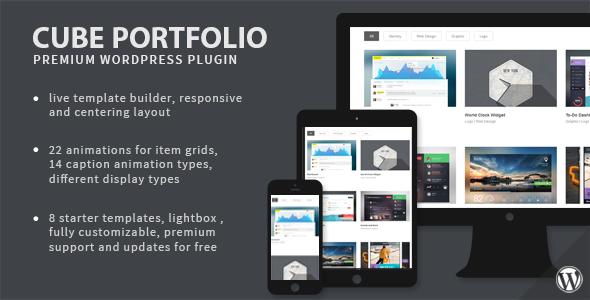 Photo of Get Cube Portfolio – Responsive WordPress Grid Plugin Download