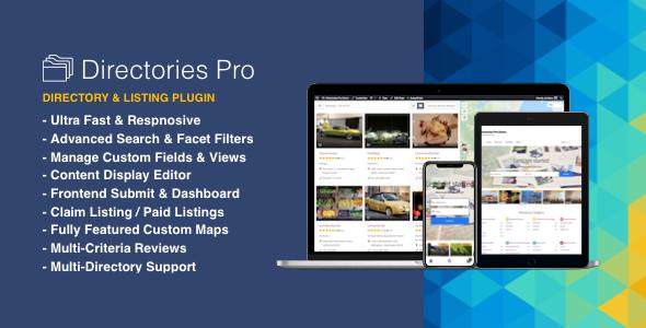 Photo of Get Directories Pro plugin for WordPress Download