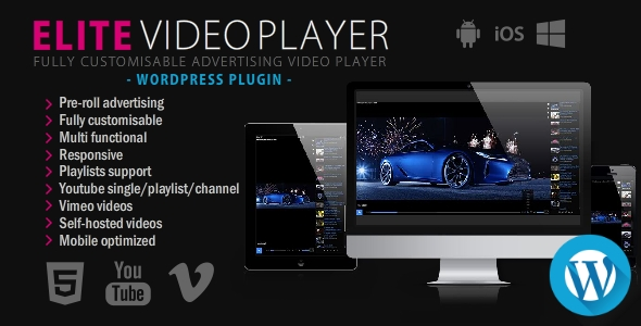 Photo of Get Elite Video Player – WordPress plugin Download