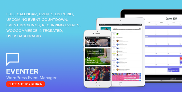 Photo of Get Eventer – WordPress Event Manager Plugin Download