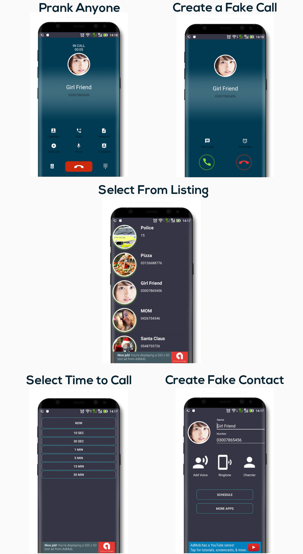Fake Call - Latest Oreo Code - 1
