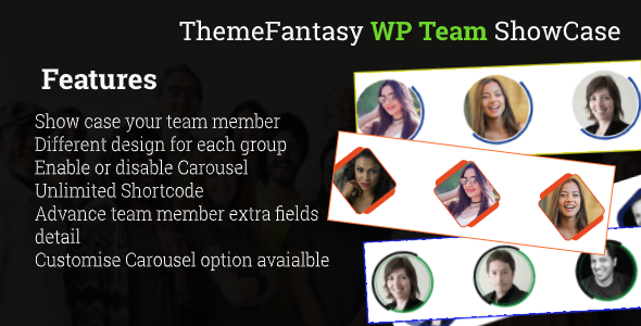 Photo of Get Fancy WordPress Team Showcase Download
