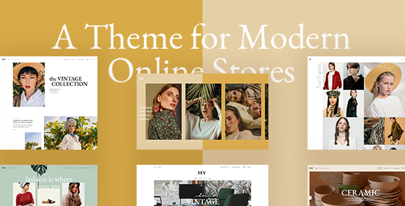 Photo of Get Fey – Modern eCommerce Theme Download