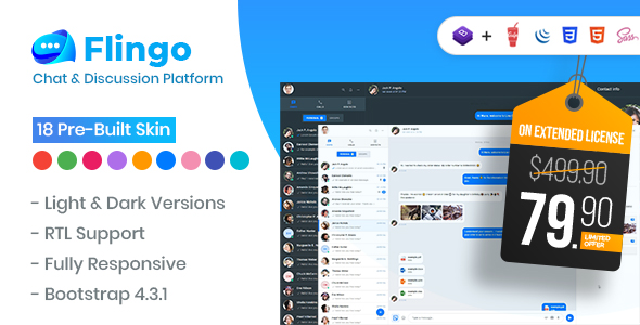 Photo of Get Flingo – Chat & Messaging Platform Download