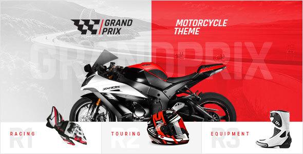 Photo of Get GrandPrix – Motorcycle WordPress Theme Download