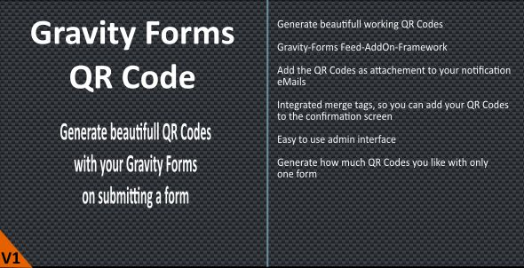 Photo of Get Gravity Forms QR Code Download