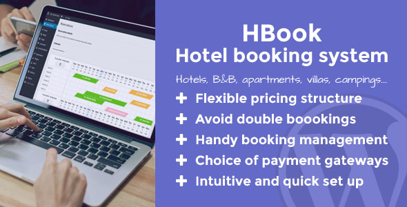 Photo of Get HBook – Hotel booking system – WordPress Plugin Download